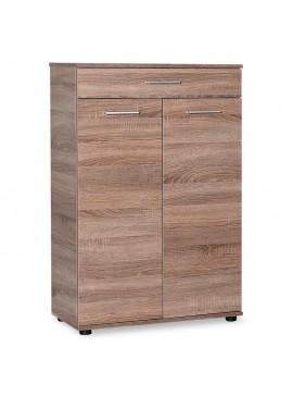 Ντουλάπι-Παπουτσοθήκη Trendline pakoworld με συρτάρι 20 ζεύγων χρώμα latte 73x35x108εκ 039-000040
