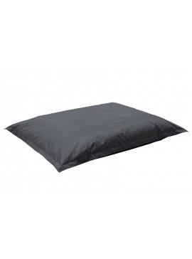 Πουφ μαξιλάρι Pigro pakoworld επαγγελματικό 100% αδιάβροχο γκρι 056-000019