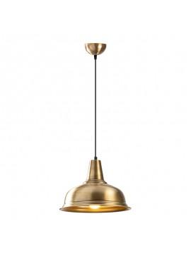 Φωτιστικό οροφής PWL-0097 pakoworld χρώμα χρυσό Φ32x120εκ 071-000758