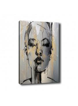 Πίνακας σε καμβά PWF-0292 pakoworld με ψηφιακή εκτύπωση 70x3x100εκ 071-000848