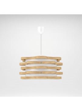 Φωτιστικό Κρεμαστό Florence MED LIGHT Καφέ Φυσικό  1 Λάμπα Τύπου Ε27 LED 48*48*100 MED-10162