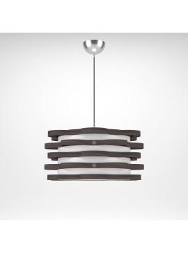 Φωτιστικό Κρεμαστό Florence MED LIGHT Καφέ Σκούρο  1 Λάμπα Τύπου Ε27 LED 48*48*100 MED-10163