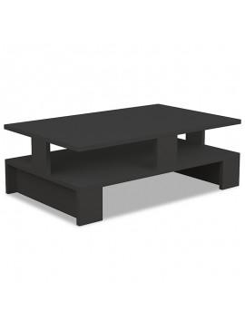 Τραπέζι σαλονιού Mansu pakoworld χρώμα ανθρακί 80x50x27,5εκ 119-000760