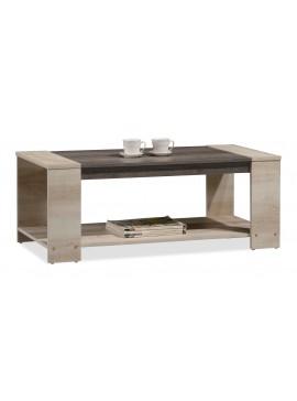 Τραπέζι σαλονιού OLYMPUS pakoworld χρώμα castillo-toro 110x51x42,5εκ 123-000011