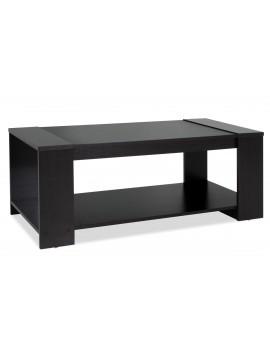 Τραπέζι σαλονιού OLYMPUS pakoworld χρώμα wenge 110x51x42,5εκ 123-000038