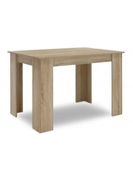 Τραπέζι Jason pakoworld χρώμα sonoma 120x80x76,5εκ 123-000069