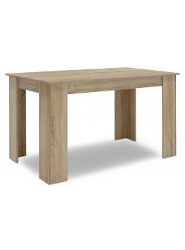Τραπέζι Jason pakoworld χρώμα sonoma 150x80x76,5εκ 123-000071