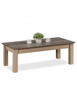 Τραπέζι σαλονιού Bruno pakoworld χρώμα viscount - toro 121x59x42εκ 123-000092