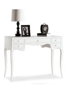 Ιταλικό έπιπλο   Γραφείο Art. 1413  EPL05013   102x50x80 εκ.Χρώμα Λευκό