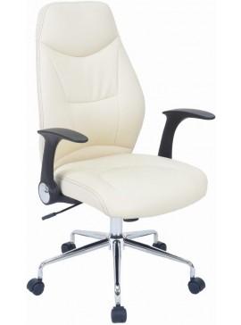 Καρέκλα διευθυντική Ronta-Λευκό - Μαύρο  Kωδ 16588889 Μήκος 64.00 Βάθος 66.00 Ύψος 108.50