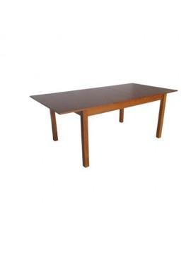 Τραπέζι Επεκτεινόμενο Pnelope 1022 In Light Walnut 120x80cm
