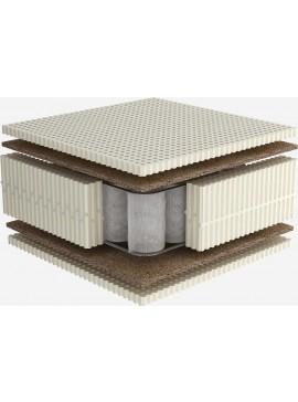 Στρώμα με ανεξάρτητα ελατήρια και latex | 090Χ200 | Celeste Dunlopillo  DunlopilloCeleste90