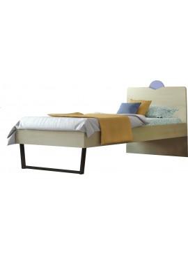 Κρεβάτι Παιδικό ΝΟ.94C Μονό Ανατολή 90x190 cm/ Δρυς-Σιελ