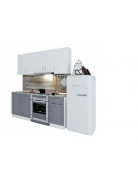 Σύνθεση Κουζίνας μήκος 2.60μ ύψος 2,17μ βάθος 0,60μ, Vintage 260,  Genomax  12814-323826565