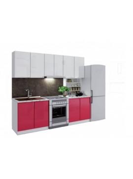 Σύνθεση Κουζίνας μήκος 3.40μ ύψος 2,17μ βάθος 0,60μ, Glantz 340, Genomax  12814-32384565646