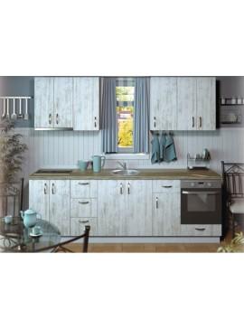 Σύνθεση Κουζίνας μήκος 4,80μ ύψος 2,17μ βάθος 0,60μ, Luxury 280, Genomax  12814-3245451