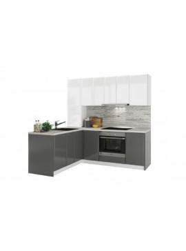 Σύνθεση Κουζίνας μήκος 5.40 μ ύψος 2,17 μ βάθος 0,60 μ, Glantz 540, Genomax 12814-32546745334