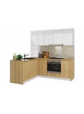 Σύνθεση Κουζίνας μήκος 5.40 μ ύψος 2,17 μ βάθος 0,60 μ, Ultra 540, Genomax 12814-32544554545334