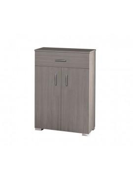 Παπουτσοθήκη ντουλάπι με ράφια σε χρώμα σταχτί 75x33x92εκ. 21P-STAXTY
