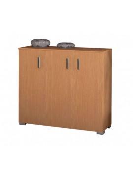 Παπουτσοθήκη ντουλάπι με ράφια σε χρώμα ανιγκρέ 100x36x92εκ. 24P-ANYGRE
