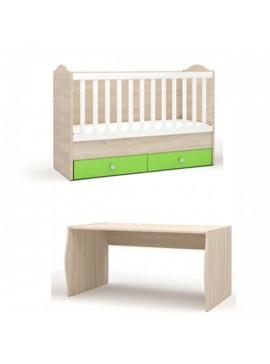 "NSBIOMEL κρεβάτι ""ELISA"" 70x125cm  25-235"