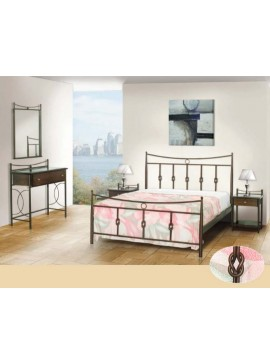 Κρεβάτι μεταλλικό Νο32 (ΣΠ)-90x190 εκ.  EPL04056-90x190 εκ.