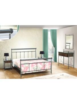 Κρεβάτι μεταλλικό Νο33 (ΣΠ)-90x190 εκ.  EPL04054-90x190 εκ.