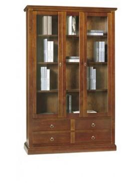 Ιταλικό έπιπλο   Βιβλιοθήκη Art. 389  EPL05111   119x40x185 εκ.