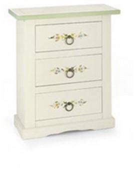 Ιταλικό έπιπλο   Συρταριέρα Art. 497  EPL05088   60x35x70 εκ.Χρώμα Λευκό