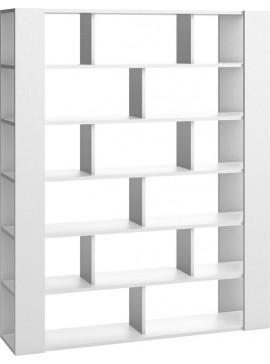 Βιβλιοθήκη 4 You Διπλής Όψεως-Λευκό  Kωδ 16264269 Μήκος 168.00 Βάθος 40.50 Ύψος 206.00