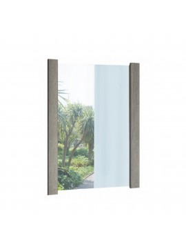 Καθρέπτης σε χρώμα σταχτί 75x90 SB 19-STAXTI