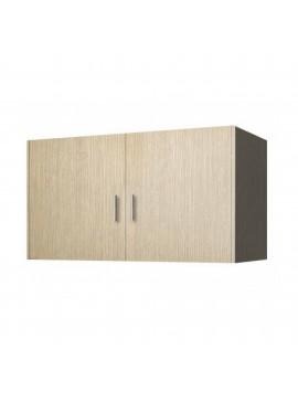 Πατάρι ντουλάπας δίφυλλο σε χρώμα δρυς 105x50x60 SB 34-DRYS