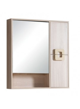 GLORIA HOTEL - ΚΑΘΡΕΠΤΗΣ PVC 80x13x80h cm - CAPPUCCINO  51-2130