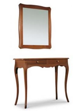 Ιταλικό έπιπλο   Καθρέπτης Art. 537  EPL05147   70x80 εκ.