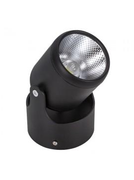 GloboStar® LED Φωτιστικό Σποτ Οροφής με Σπαστή Βάση Black Body 10W 230V 1400lm 24° Θερμό Λευκό 3000k GloboStar 93009