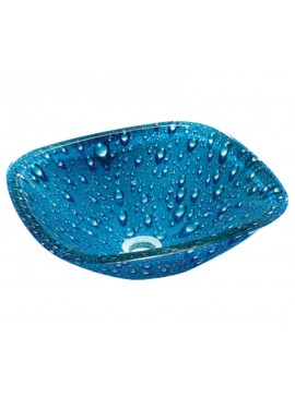 GLORIA GLASS - ΝΙΠΤΗΡΑΣ 40*40*13 BLUE DROPS  67-8329