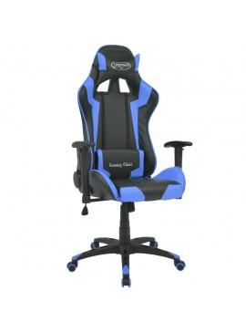 Καρέκλα Γραφείου Racing Ανακλινόμενη Μπλε από Συνθετικό Δέρμα  20171