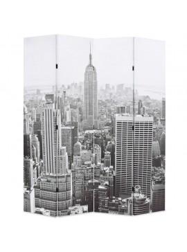Διαχωριστικό Δωματίου Μέρα στη Νέα Υόρκη Ασπρόμαυρο 160x170 εκ.  245858