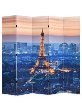 Διαχωριστικό Δωματίου Πτυσσόμενο Νύχτα στο Παρίσι 200 x 170 εκ.  245871