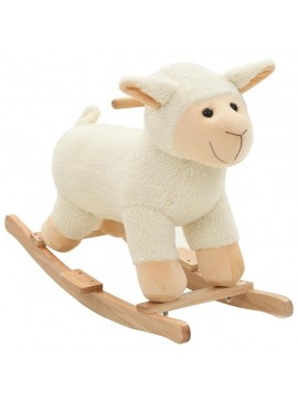 Κουνιστό Παιχνίδι Πρόβατο Λευκό 78 x 34 x 58 εκ. Λούτρινο  80220