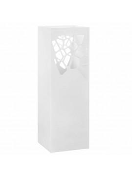 Ομπρελοθήκη με Σχέδιο Πέτρες Λευκή Ατσάλινη   246799