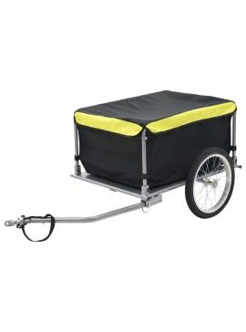 Τρέιλερ Ποδηλάτου για Μεταφορά Φορτίων 65 κ. Μαύρο / Κίτρινο  91684