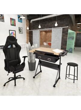 Τραπέζι Σχεδιαστήριο με Ανακλινόμενη Επιφάνεια & Καρέκλα Gaming  275653