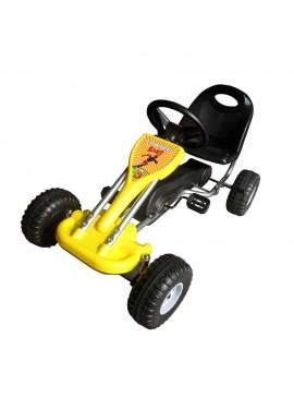 Go Kart με Πετάλια Κίτρινο  90252