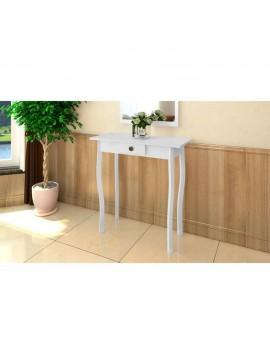 Κονσόλα Τραπέζι Λευκό από MDF   240045