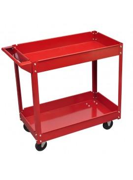 Φορητός Eργαλειοφόρος 100 kg Κόκκινος  140154