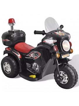 Ηλεκτροκίνητη Παιδική Μοτοσυκλέτα (Μαύρη)  80086