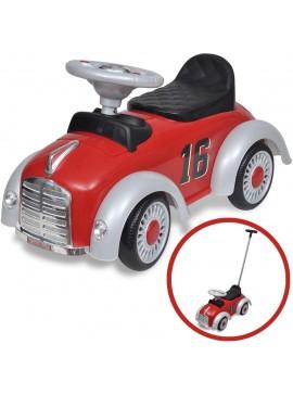 Αυτοκίνητο Περπατούρα Παιδικό Ρετρό με Λαβή Γονέα Κόκκινο  10078