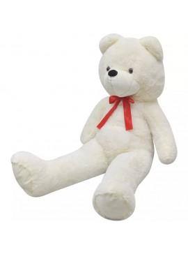 Αρκούδος Λούτρινος Μαλακός Λευκός 200 εκ.  80146