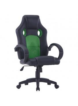 Καρέκλα Gaming Πράσινη από Συνθετικό Δέρμα  20187